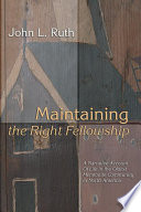 Maintaining the Right Fellowship