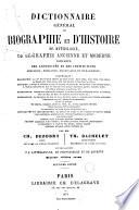 Dictionnaire général de biographie et d'histoire