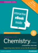 Chemistry, Standard Level, for the Ib Diploma (Etext) (Access Code Card) (Pearson Baccalaureate)