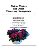 African violets and other flowering houseplants