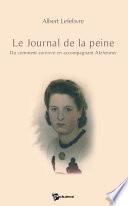 Le Journal de la peine