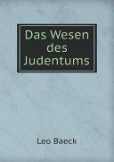 Das Wesen des Judentums