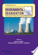 Proceedings of the 15th International Conference on Environmental Degradation of Materials in Nuclear Power Systems   Water Reactors