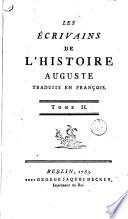 Les ecrivains de l histoire d Auguste