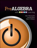 Prealgebra with P O W E R  Learning