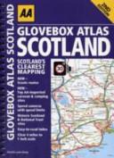 AA Glovebox Atlas Scotland