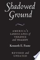 Shadowed Ground book