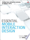 Essential Mobile Interaction Design