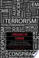 Language Of Terror