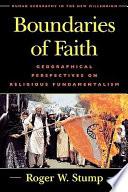 Boundaries of Faith