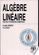 illustration du livre Algèbre linéaire
