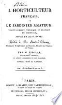 illustration L'horticulture française, ou le jardinier amateur