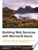 Building Web Services With Microsoft Azure book