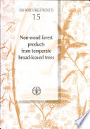 Non wood Forest Products from Temperate Broad leaved Trees