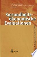 Gesundheitsökonomische Evaluationen