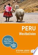 Stefan Loose Reisef  hrer Peru West Bolivien