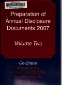 Preparation of Annual Disclosure Documents