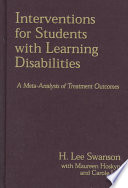 Interventions for Students with Learning Disabilities