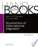 Handbook of the Economics of International Migration