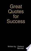 Great Quotes for Success