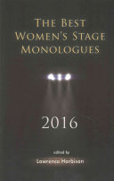 The Best Women s Stage Monologues 2016
