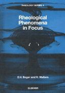 Rheological Phenomena in Focus