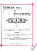 Portrait and Biographical Album of Muscatine County, Iowa
