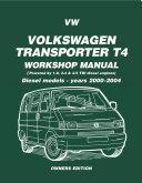 Best VW Volkswagen Transporter T4 Workshop Manual Diesel Models 2000-2004