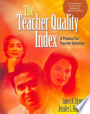 The Teacher Quality Index