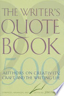 The Writer s Quotebook