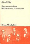 Il romanzo italiano dell Ottocento e Novecento