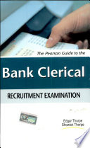 The Pearson Guide to the Bank Clerical Recruitment Examination