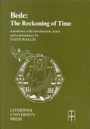 Book Bede, The Reckoning of Time