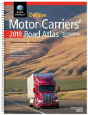 2018 Rand McNally Deluxe Motor Carriers  Road Atlas