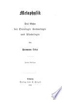 System der Philosophie: T. Metaphysik. Drei Bücher der Ontologie, Kosmologie und Psychologie