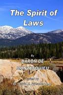 download ebook the spirit of laws volume 2 pdf epub