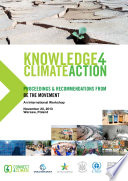 Knowledge for Climate Action