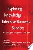 Exploring Knowledge Intensive Business Services