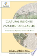 Cultural Insights for Christian Leaders  Mission in Global Community