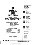 Hazleton  Luzerne and Schuylkill Counties  PA  City Directory