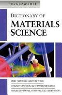 McGraw Hill Dictionary of Materials Science