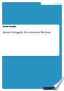 Hanna Schygulla  Der deutsche Weltstar
