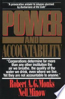 Power and Accountability