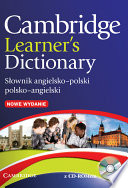 Cambridge Learner s Dictionary English Polish with CD ROM