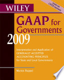 Wiley GAAP for Governments 2009