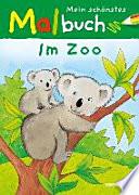 Mein sch  nstes Malbuch  Im Zoo