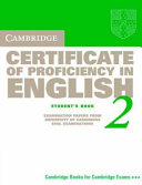 Certificate of Proficiency in the English 2