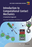 Introduction to Computational Contact Mechanics