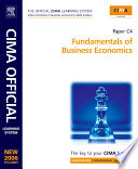 CIMA Learning System Fundamentals of Business Economics