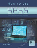 How to Uses SPSS 9th Ed